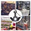 LED hordozható világítás alumínium 3 ágú 60W 6000 lumen