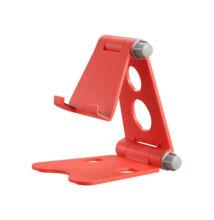 Többfunkciós Kihajtható Telefontartó Állvány Piros XD2