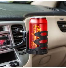 Autós italtartó szellőzőrácsra rögzíthető