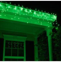Jégcsap 180 LED Fényfüzér zöld 5m