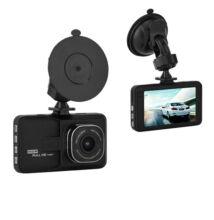 """Autós eseményrögzítő kamera Full HD 3MP 3"""" kijelző TQ-101"""