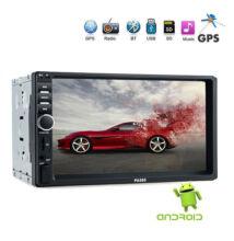 Bluetooth autóhifi fejegység Android WiFi GPS HD SD USB MP3 PA585
