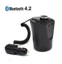 Pohár Alakú Telefon Töltő Bluetooth Kihangosító FM Transzmitter BX-6