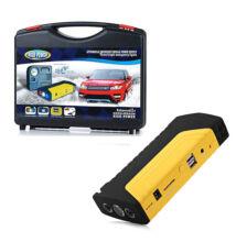 Hordozható autós indító szett kompresszorral powerbank bikázó töltő és LED lámpa egyben