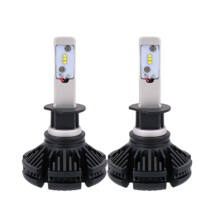 X3 Autó LED extra erős 6000LM 50W H1