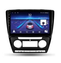 """Autós multimédia fejegység és GPS WiFi Android Skoda Octavia 2 autórádió kerettel 10,1"""" 9216B"""