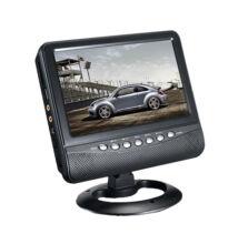 """Autós monitor 9"""" kijelző TV analóg hangoló USB SD"""