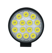 Autós LED reflektor 42W IP67 12-36V kör