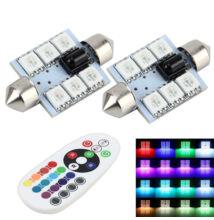 Autós Szofita RGB színváltós LED távirányítóval MM-2850
