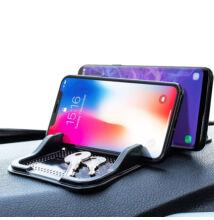 Csúszásmentes telefontartó autóba dupla