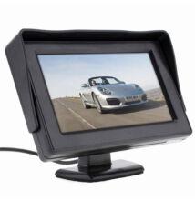 """Univerzális TFT LCD monitor tolatókamerához 4,3"""""""