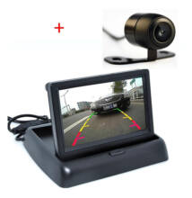"""Univerzális tolatókamera monitorral 4,3"""""""