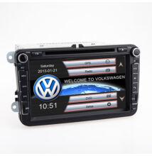 Volkswagen Seat Skoda Autós Hifi Fejegység GPS 3G Bluetooth Full HD 8328