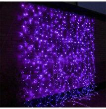 LED Fényfüggöny 2mx2m Lila