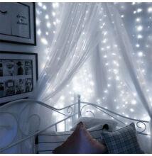 Fényhuzal fényfüggöny Hideg Fehér 2mx2m