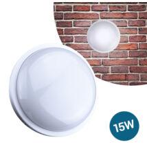 LED Kültéri Beltéri Fali Lámpa Kerek IP65 15W