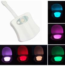 Mozgásérzékelős LED WC és fürdőszobai megvilágítás