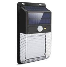 Napelemes fali LED lámpa mozgásérzékelős 36LED JYC001