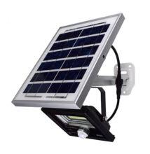 Kültéri LED lámpa utcai világítás reflektor szolár panel napelemes mozgásérzékelős 20LED LM-10W
