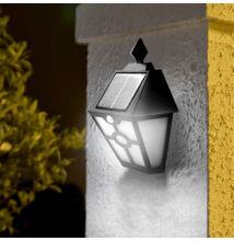 Napelemes fali kültéri LED lámpa mozgásérzékelős YW-778