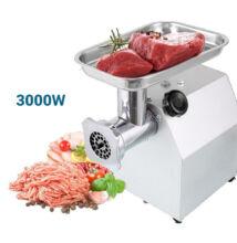 Rozsdamentes acél ipari húsdaráló 3000W HM-6314