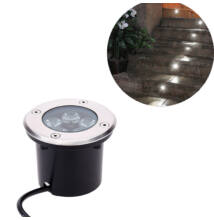 Kültéri beépíthető LED lámpa meleg fehér IP68 5W