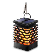 Napelemes lobogást imitáló lámpás multifunkciós felakasztható leszúrható falra szerelhető XF-6001
