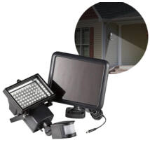 Mozgásérzékelős LED Napelemes Reflektor Kültéri 15W