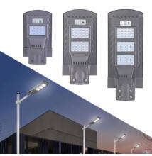 Napelemes szolár LED kültéri lámpa integrált szolár panellel 20W 40W 60W