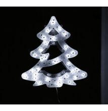 LED világító ablakdísz fenyőfa 40cm