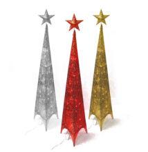 LED dekorációs karácsonyfa 3 színben 150cm