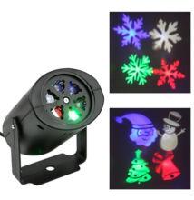 Beltéri LED projektor karácsonyi motívumokkal