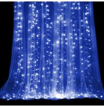 LED Fényfüggöny 3mx3m Kék