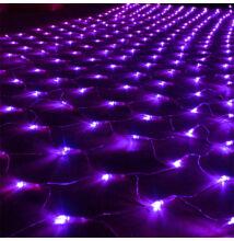 LED Beltéri Háló Fényháló LILA 1,6mx1,2m