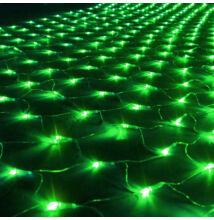 LED Beltéri Háló Fényháló ZÖLD 1,6mx1,2m