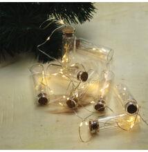 Mini Palack LED Fényfüzér Meleg Fehér 2,5m