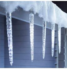 Olvadást imitáló csepegő jégcsap 50cm Hideg Fehér Extra Valósághű