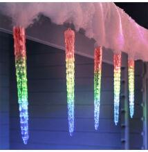 Olvadást imitáló csepegő jégcsap 30cm RGB Színes Extra Valósághű