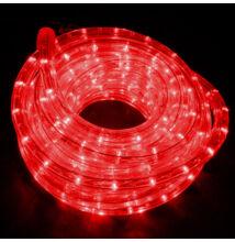 LED Fénytömlő 10m Piros