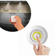 3db COB ledes lámpa vezeték nélküli távirányítóval