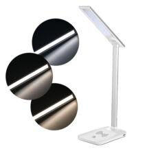 Asztali Érintős LED Lámpa és Vezeték Nélküli Qi Töltő 3 Színhőmérséklet