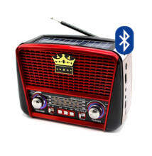 Napelemes Bluetooth hordozható multimédia lejátszó MP3 USB FM rádió RX-BT455S