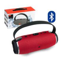 Hordozható Vezeték Nélküli Hangszóró és Vésztöltő HS-020 Bluetooth USB TF MP3 FM Rádió