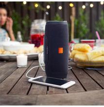 Hordozható Vezeték Nélküli Hangszóró és Vésztöltő K3 Bluetooth Vízálló USB TF MP3 FM Rádió