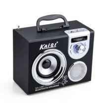 Bluetooth hordozható multimédia lejátszó KA-13BT MP3 USB FM rádió TF