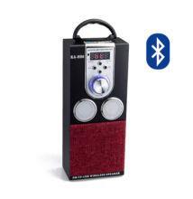 Bluetooth hordozható multimédia lejátszó KA-H06 MP3 USB FM rádió TF
