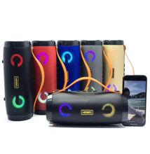 Bluetooth Hordozható Vezeték Nélküli Hangszóró USB TF MP3 FM Rádió KM-202