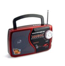 Bluetooth hordozható multimédia lejátszó M-U73BT MP3 USB FM rádió TF