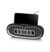 Bluetooth Hangszóró Kihangosító Telefontartóval TF USB AUX FM MCE-U2