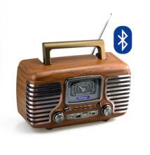 Bluetooth hordozható multimédia lejátszó MD-101BT MP3 USB FM rádió TF RETRÓ